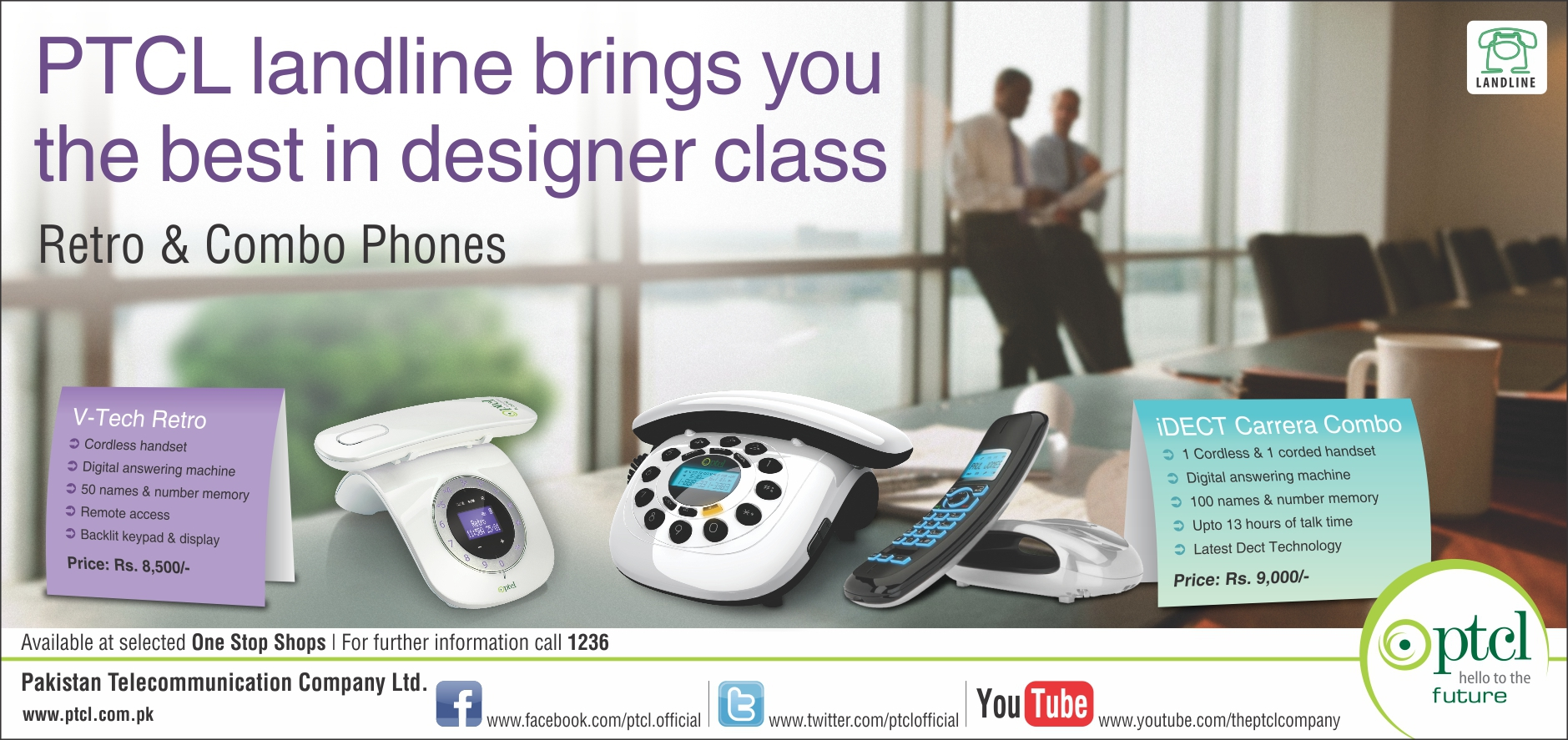 PTCL Designer Telephone Sets