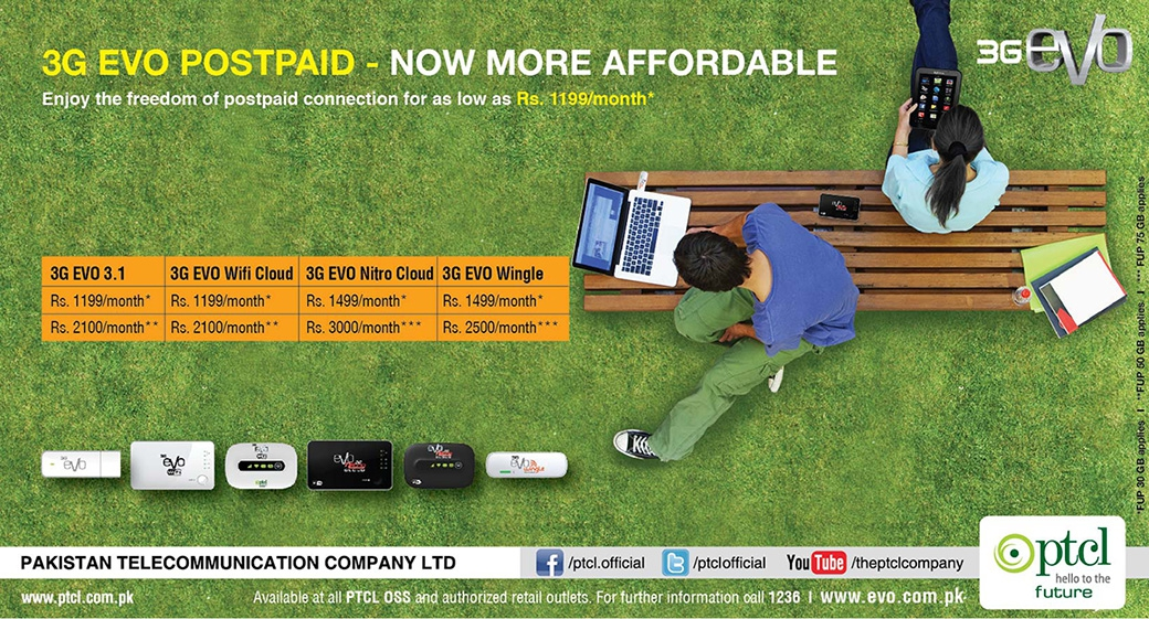 3G EVO postpaid---Now More Affordable