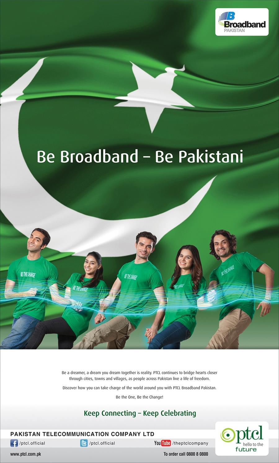 Be Broadband - Be Pakistani