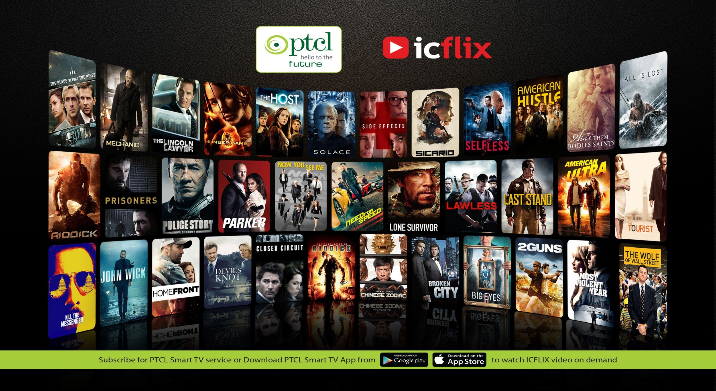 ICFLIX Bundle on Smart TV & Smart TV App