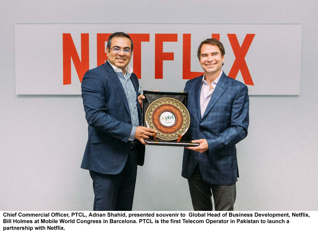 PTCL inks agreement with Netflix to provide online